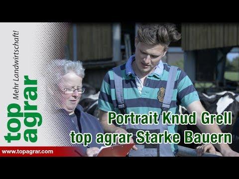 Junglandwirt Knud Grell
