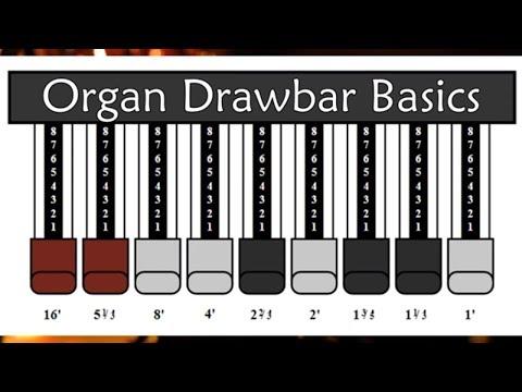 Organ / Keyboard Drawbar Basics