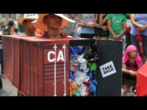 Feds to act on garbage in Philippines after threat