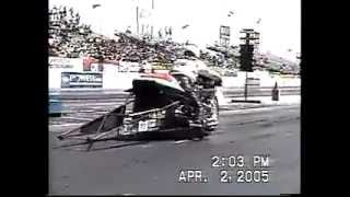Death of a Top Fuel Nitro Harley