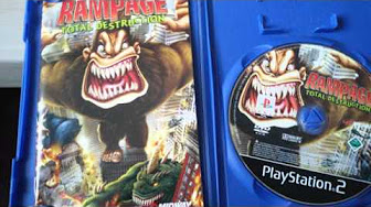 rampage total destruction wii gamecube controller