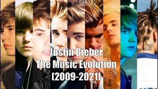 Justin Bieber - The Music Evolution (2009-2021)