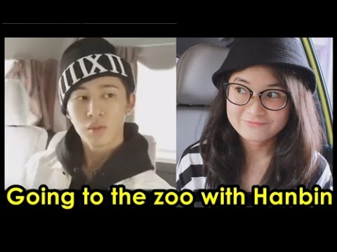 Hanbin aaa~ let's go to the zoo! (Mix & Match DVD Osaka trip B.I iKON cut)