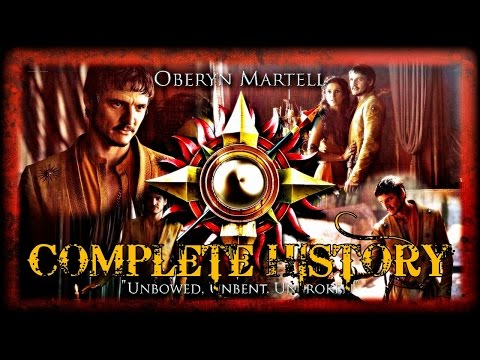 The Complete History of Oberyn Martell