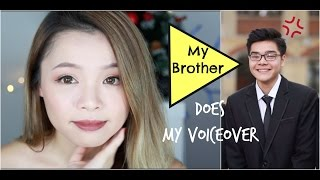 Em Trai Tớ Lồng Tiếng Makeup ♡ My Brother Does My Voiceover ♡ TrinhPham thumbnail