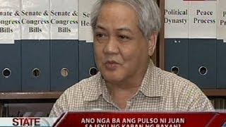 SONA: Ano nga ba ang pulso ni Juan sa isyu ng kaban ng bayan?