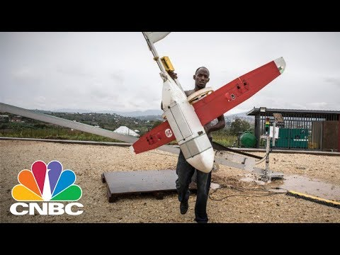 Drone Delivery Start-Up Zipline Beats Amazon, UPS And FedEx To The Punch | CNBC