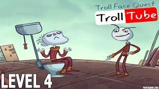 Troll Face Quest Video Memes Level #4 Walkthrough