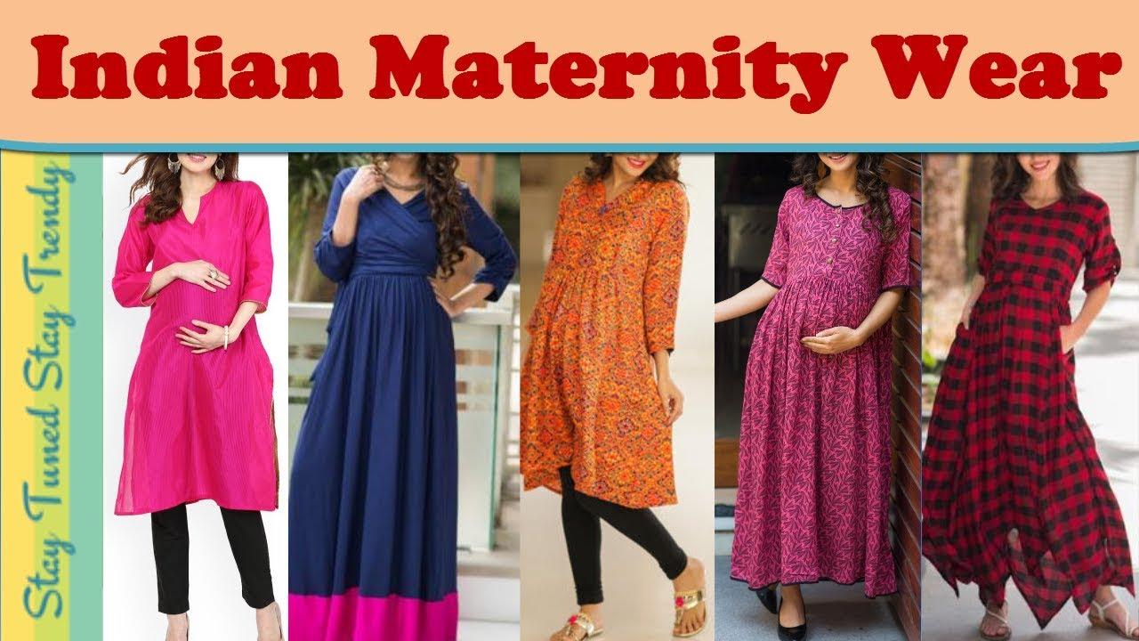 Maternity Wear Kurti Maxi Dress Gown Designs Kurti For Pregnant Women प र ग न न स फ शन ल कब क Youtube