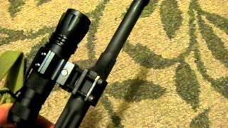 AKM Saiga WASR BC47-2 Flashlight Accessory Mount for AK47