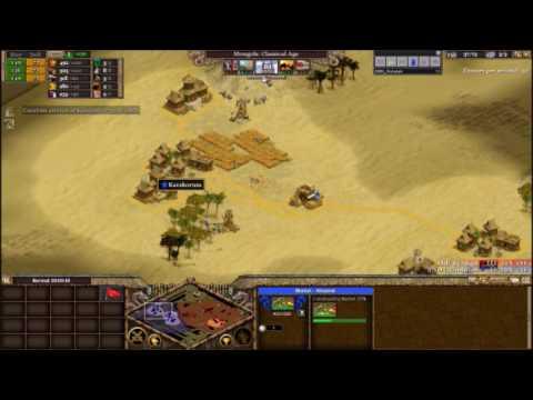 [Rise of Nations] Standard 1vs1: IRB_Serman(Chinese) Vs |IND|_Gunalan(Mongols) [Replay]