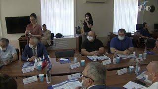 В Псковской области секретарь генсовета партии \Единая Россия\ говорил о ремонте школ.