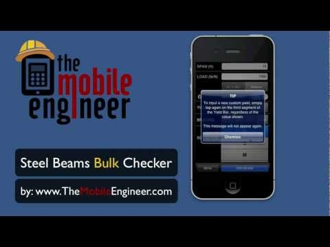 Steel Beams Bulk Cheker
