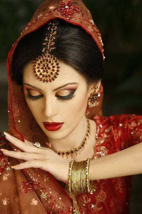 New Dramatic Gold Amp Maroon Asian Bridal Look YouTube