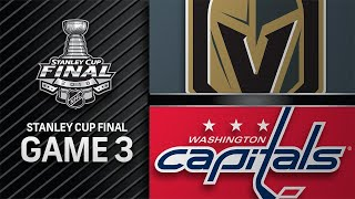 Capitals win Game 3 to go up 2-1 in Stanley Cup Final
