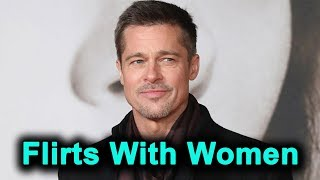 Brad Pitt Reportedly Uses His Given Name When He Flirts With Women