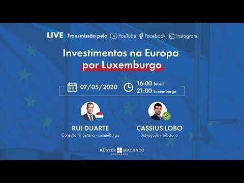 Investimentos na Europa por Luxemburgo