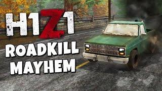 H1Z1 Vehicle Gameplay - Roadkill Mayhem Coop