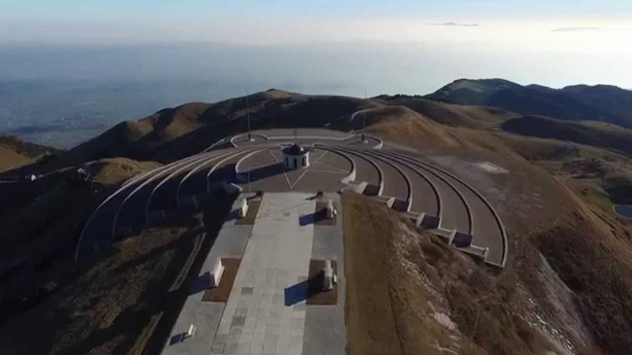 Monte Grappa (aerial view) YouTube