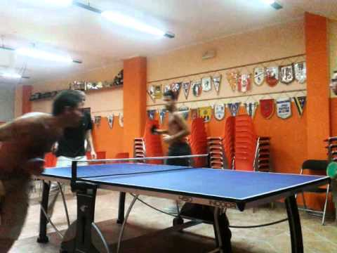 ping pong all'americana post riunione