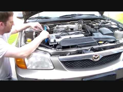 Mazda P1345 no Cam Position Sensor signal - YouTube