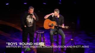 blake shelton and craig wiseman boys round here stars for second harvest