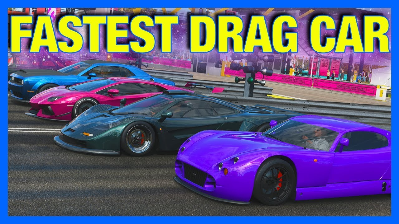 Forza Horizon 4 : FASTEST DRAG CAR IN THE GAME!! (Forza Science)