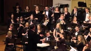 Hands Across The Sea - John Philip Sousa, Nebraska Wesleyan Symphonic Band