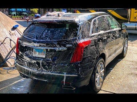 Обзор автомойки в Los Angeles! Как моют в ГОЛЛИВУДЕ!
