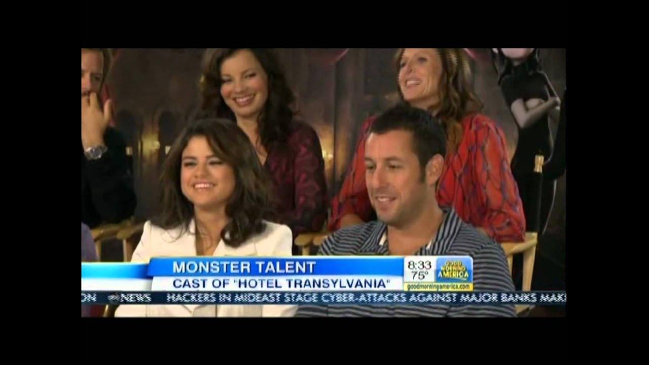 Hotel Transylvania Cast Good Morning America 9-28-12