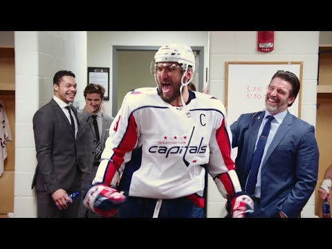 A nice tribute from the former 700 goal scorers to Ovechkin.
