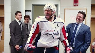 Alex Ovechkin welcomed into 700-goal club by members