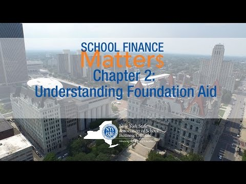 School Finance Matters - Chapter 2: Understanding Foundation Aid