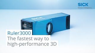 Ruler3000: The fastest way to high-performance 3D | SICK AG