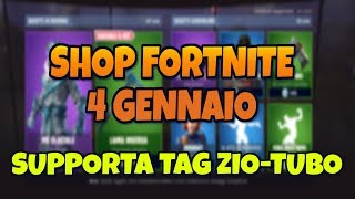 SHOP FORTNITE OF TODAY 4 JENNAIO NEW SKIN PIE GLACIAL AND PICCONE LAMA INVERSA