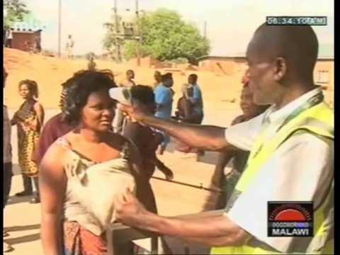 Ebola Testing at Mwanza Malawi Mozambique Border - November 2014