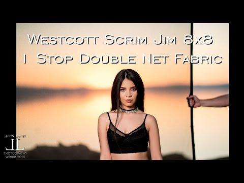 Westcott Scrim Jim Cine 4x6 Double Net Fabric