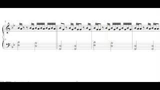 Реквием по Мечте ноты для фортепиано