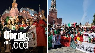 Baixar Carlos Calderón no narró el gol pero sí la fiesta a la mexicana que se vivió en Moscú | GYF