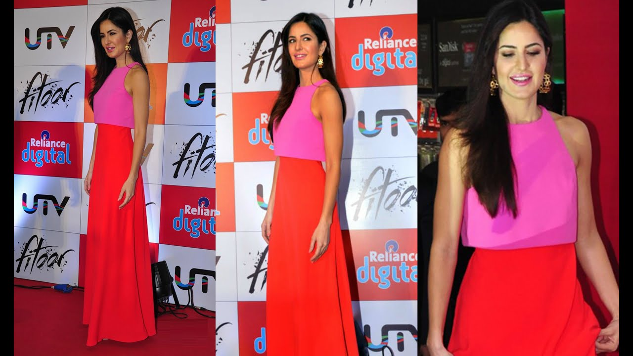 Katrina Kaif Look Hot At Fitoor Promotion