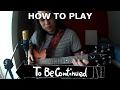 Jojo's Bizarre Adventure - To Be Continued - Cómo tocar el riff de #9