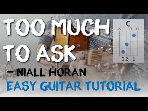 """""""Too Much To Ask"""" Easy Guitar Tutorial 