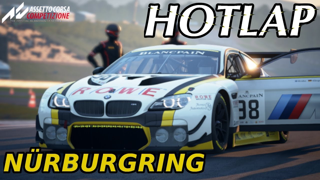 ACC Hotlap Nürburgring | BMW M6 GT3 - 1:53.517 | Assetto Corsa Competizione 0.3.5