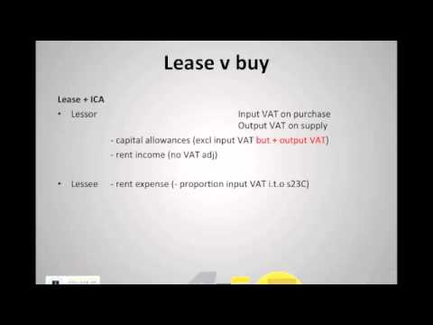 Leasing (with VAT integration)