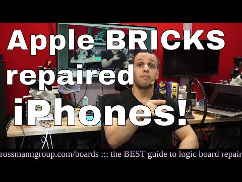 Apple iOS update BRICKS repaired iPhones after screen repair!