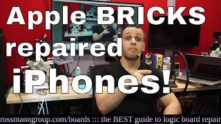 Apple iOS update BRICKS repaired iPhones after screen repair!
