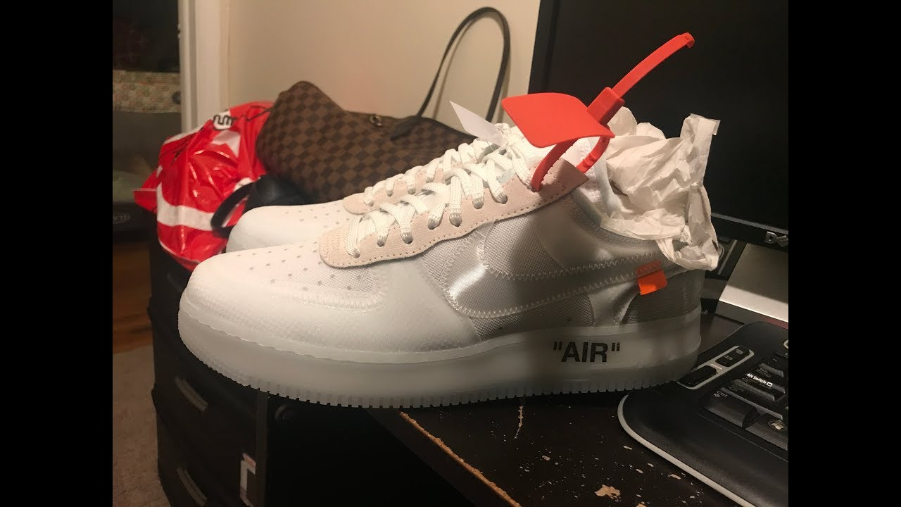 efeb46742ca Off White Air Force 1 Review/Legit Check