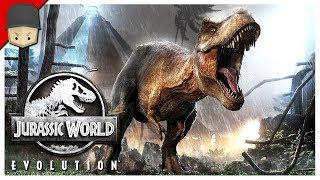 Jurassic World Evolution - CLEVER GIRL! : Ep.04 (Jurrassic World Evolution Gameplay)