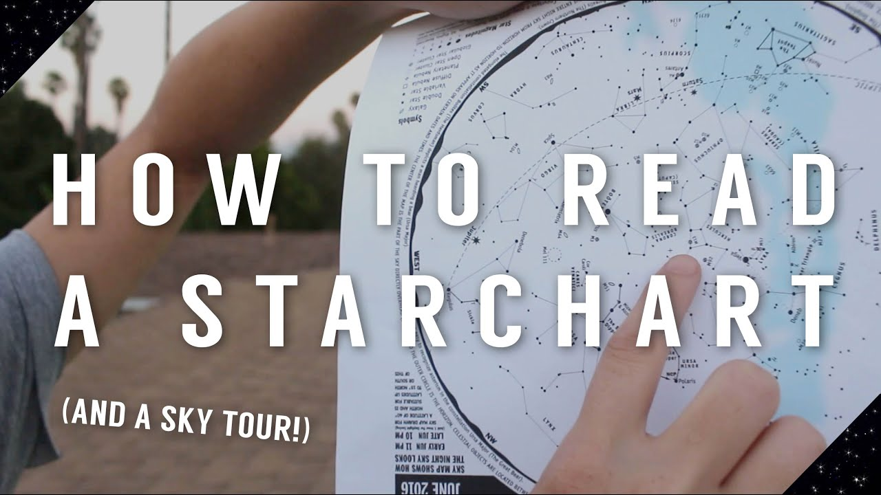 How To Read A Starchart Youtube