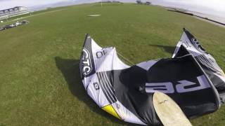 Kiteboarding crash on alaiaboards - springsessions - with ben beholz hd - #ben's quick clip